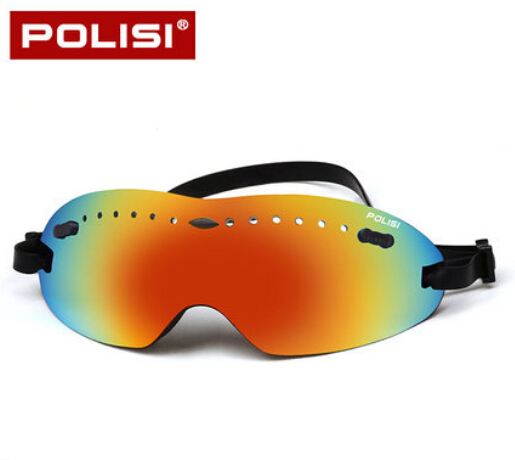 POLISI Skiing Snow Skate Eyewear Children Kids Outdoor Sport Ski Snowboard Goggles UV Protection Anti-Fog Glasses