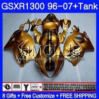Обтекатель для SUZUKI Hayabusa GSXR 1300 GSXR1300 96 97 98 99 00 01 26HM. 5 блеска золотой GSX R1300 1996 1997 1998 1999 2000 2001