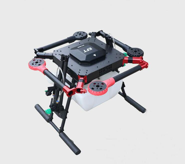 4-axis Spray pump Agriculture drone w/ 10KG/10L spraying gimbal system 1300mm Wheelbase Folding UAV Quadcopter