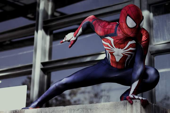 New Ps4 Insomniac Spiderman Cosplay 3d Print Spandex Games