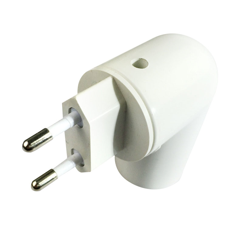 US/EU Plug PBT PP To E27 LED Light Socket To EU Plug Holder Adapter Converter ON/OFF For Bulb Lamp