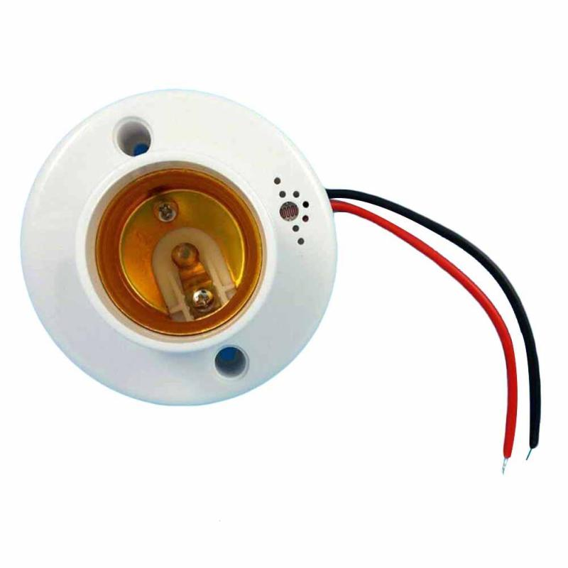 Image 2 - Universal E27 110V 220V 50Hz Lamp Holder Sound Voice Control Induction Light Bulb Switch Adapter for corridors passageways Z3-in Remote Controls from Consumer Electronics