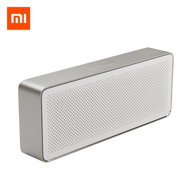 Оригинальный Xiaomi Динамик Bluetooth Динамик квадрат 2 стерео HD Портативный Bluetooth 4,2 Высокое разрешение качество звука воспроизводить музыку