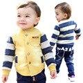 Anlencool Бесплатная доставка хорошее качество новорожденных детская одежда весна новый Европейский стиль baby boy набор марка одежда для новорожденных наборы