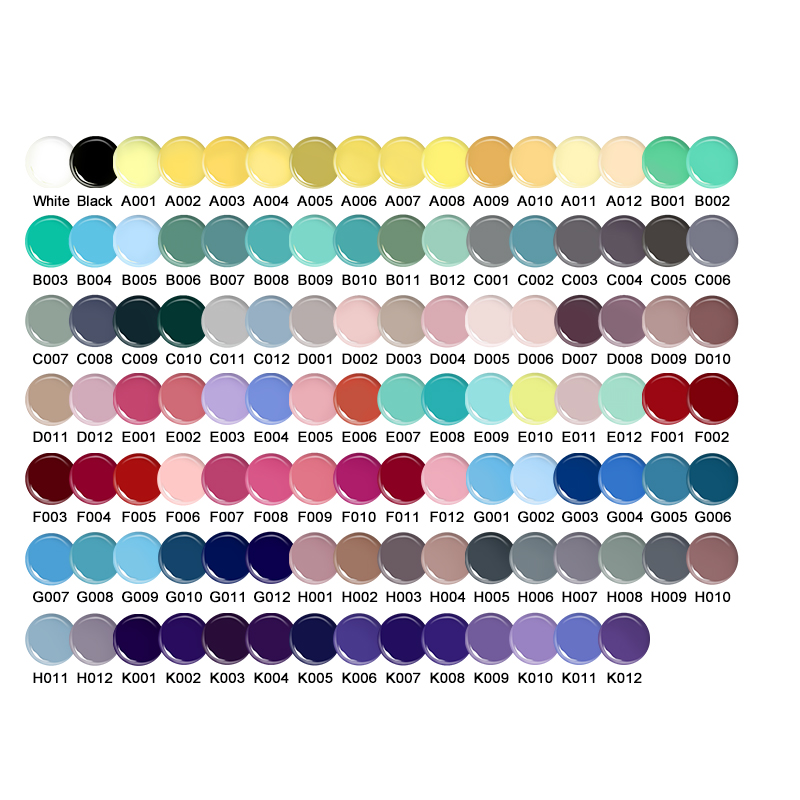 UR SUGAR 5мл Macaron Soak Off UV Гель 110 Pure Colors Effect - Маникюр - фото 5