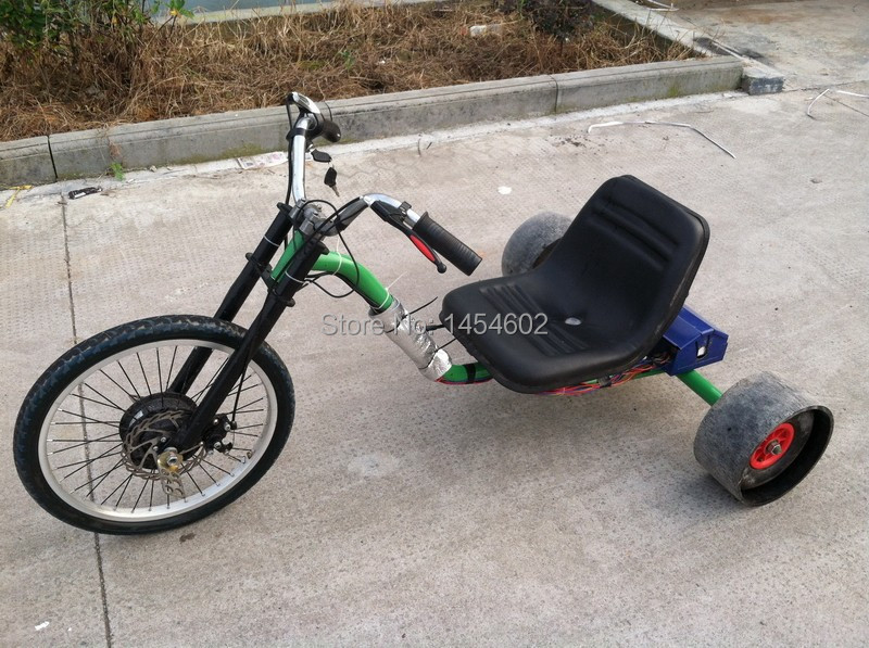 motorized electric 48v 500w drift trike electric drift. Black Bedroom Furniture Sets. Home Design Ideas