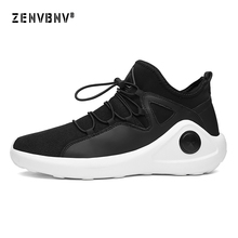 Zenvbnv Sport Running Shoes Men Outdoor Breathable Comfortable Male Lightweight Athletic Mesh Sneakers Man High Quality