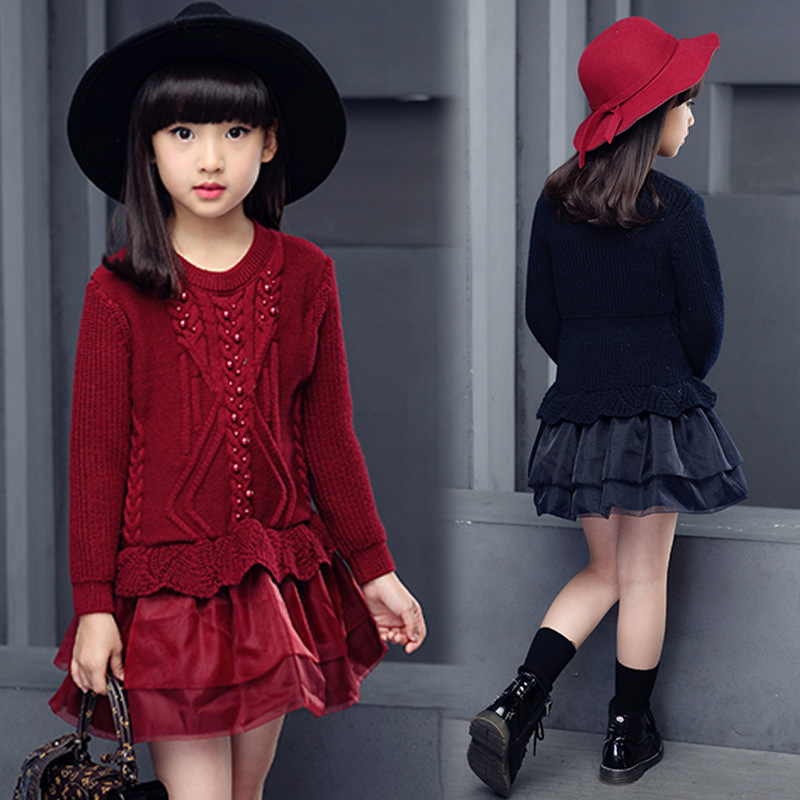 Age 9 red dress outfit
