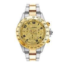 2017 New Watches Men Luxury Brand Wealthstar Fashion Men Sports Watches  Steel Band Quartz Men's Watch Relogio Masculino