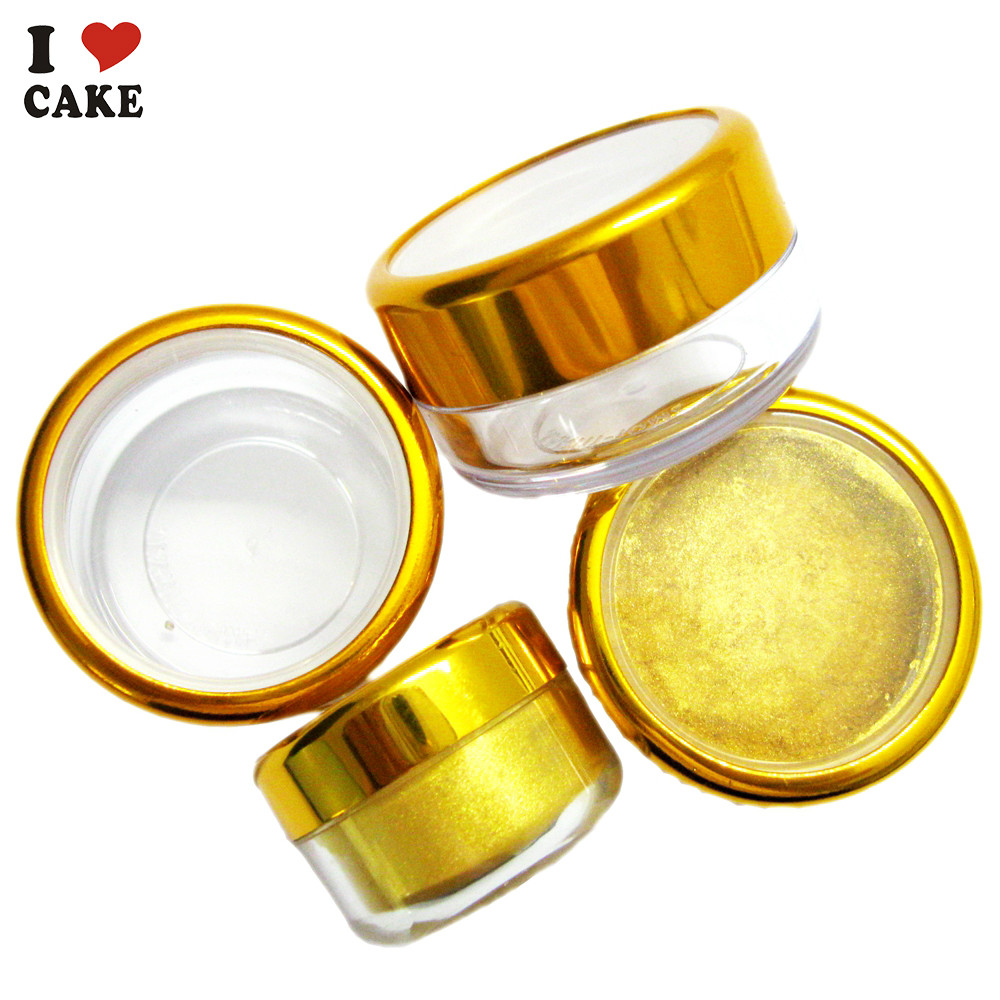 aliexpresscom buy 3g golden sugar natural pigment food coloring pearlizing coating wilton fondant cake decorating tools paste food baking macaron from - Colorant Wilton