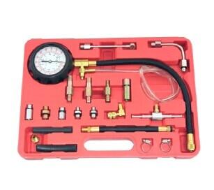 TU-114 Petrol and diesel fuel pump pressure tester meter 0 - 145 PSI AT241 Fuel Pressure Gauge Auto Diagnostics Tools