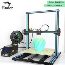 2017 легко построить 3D-принтеры CR-10 большой принт Размеры 500*500*500 мм с нитями + очаг + SD карта + Инструменты как подарок (creality 3D)