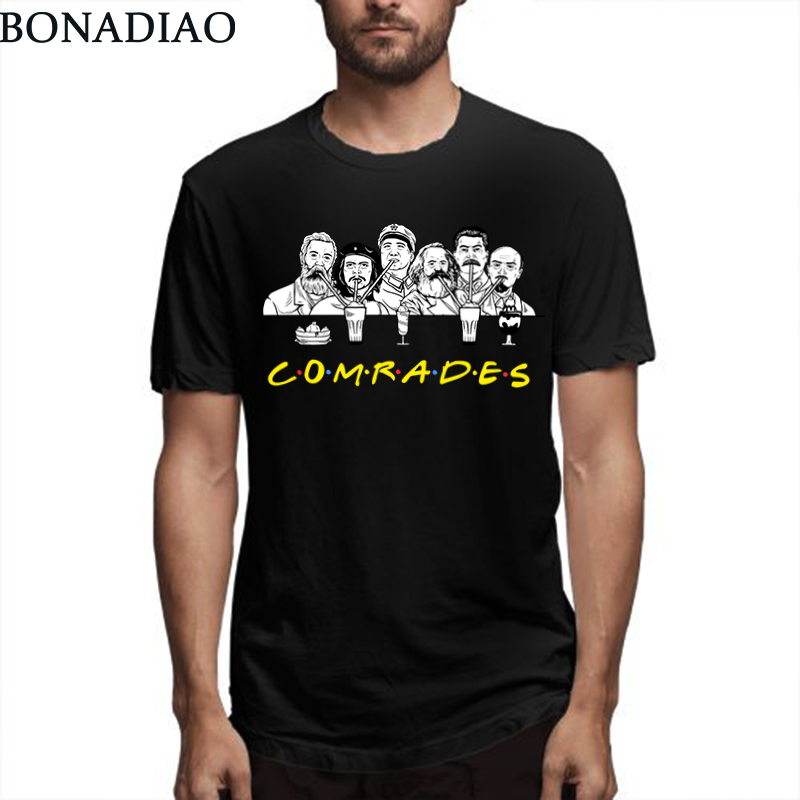 Communist Friends Comrades Marxism T Shirt Marx Engels Lenin Stalin
