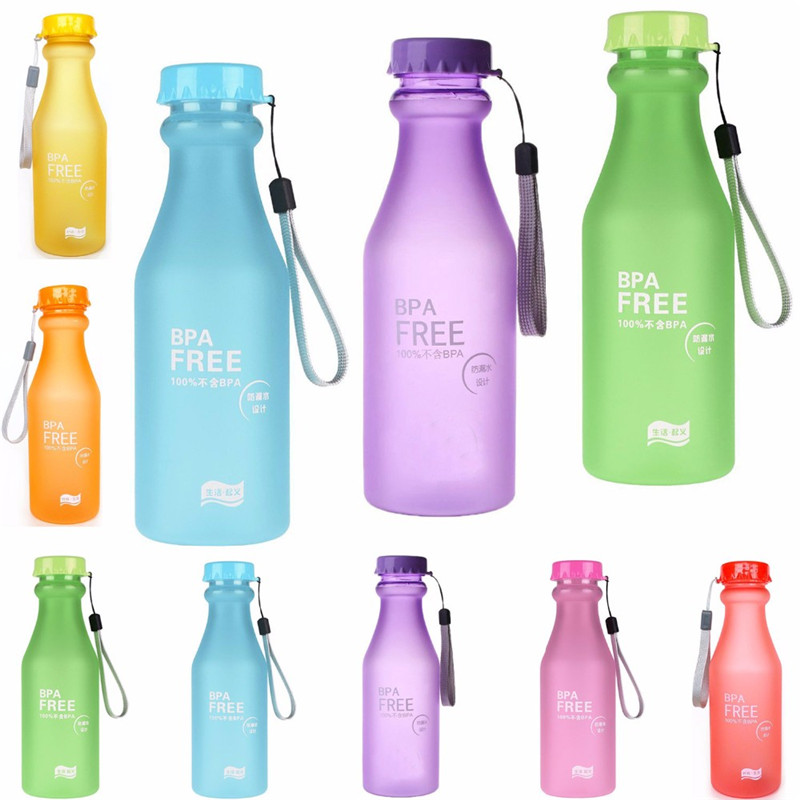Creative Travel Outdoor Water Bottles Portable Dog Cat: Portable Leak Proof Outdoor Sports Travel Unbreakable 550