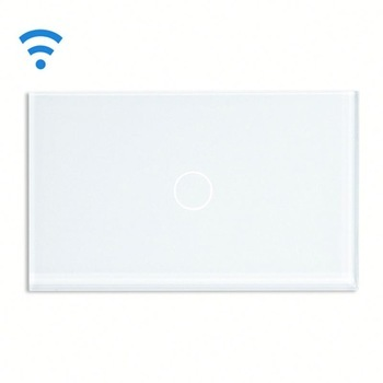 Bseed Wireless Touch Switch 1 Gang 2 Way Dimmer Switch With Remote Control White Touch Switch Dimming Led Us Au Eu Uk smart home eu touch switch wireless remote control wall touch switch 3 gang 1 way white crystal glass panel waterproof power