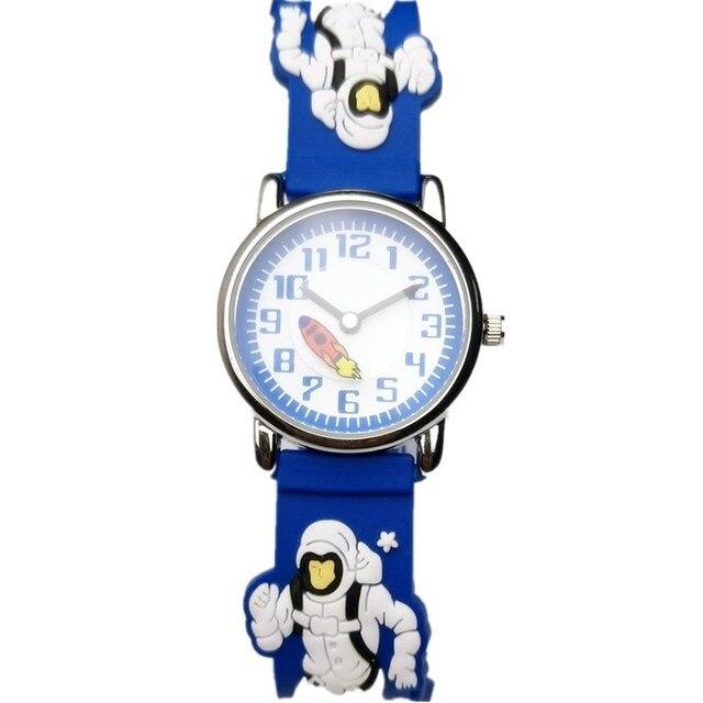 Willis moda niños reloj astronauta de dibujos animados pulsera de ...