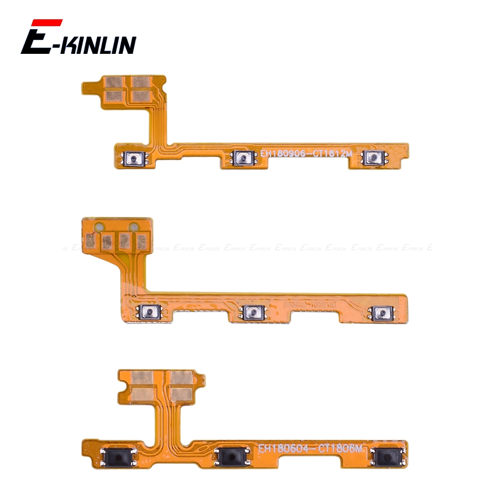 Switch Power ON OFF Key Mute Silent Volume Button Ribbon Flex Cable For HuaWei Honor View 20 Note 10 9 9i 9 8C 8X Max Pro Lite