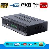 N/S 미국의 전체 HD FTA DVB-S2 디지털 위성 수신기 디코더 IPTV 플레이어