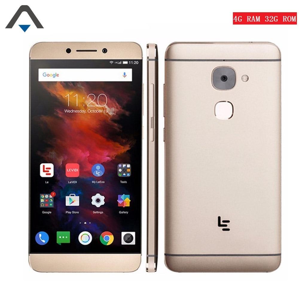 LeEco Letv Le S3 x626 smartphone Deca Core 4G RAM 32G ROM 21MP camera 1080P FHD 5.5 inch 3000 mah Fingerprint 4G mobile phone