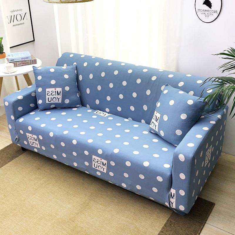 1pc Leaf and Flower Printed Sofa Cover Made of Polyester and Spandex Fabric for L Shaped and Corner Sofa 21