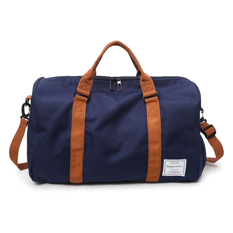 2019 Portable Men Women Shoulder Bags Unisex Travel Big Totes Oxford Large Capacity Luggage Bags With Shoes Position Handbags in Travel Bags from Luggage Bags