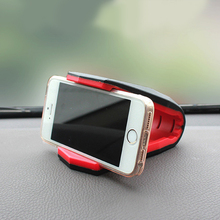 Universal Dashboard Car Phone Holder Stand Adjustable Alligator Clip Mobile Scaffold Cradle Mount