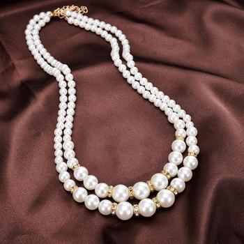 Women Pearl Choker Necklace Jewelry Pearl Jewelry