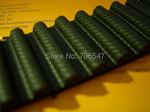 Free Shipping 1pcs  HTD1416-8M-30  teeth 177 width 30mm length 1416mm HTD8M 1416 8M 30 Arc teeth Industrial  Rubber timing belt