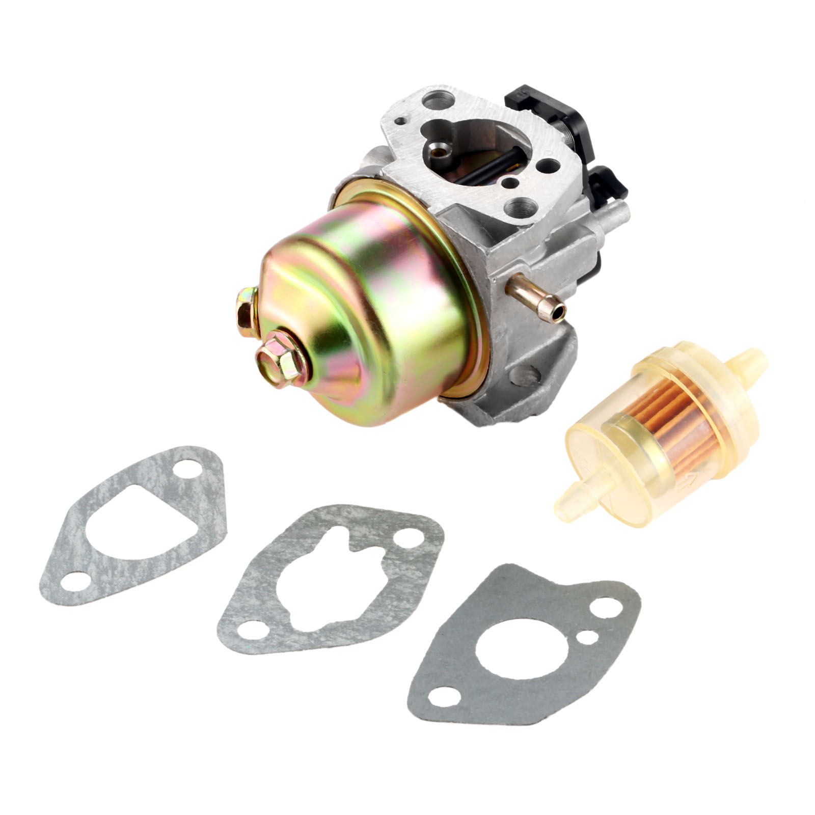 small resolution of dreld carburetor with carburetor gasket fuel filter for mtd cub cadet troy bilt lawn mower engines 951 10310 751 10310 in lawn mower from tools on