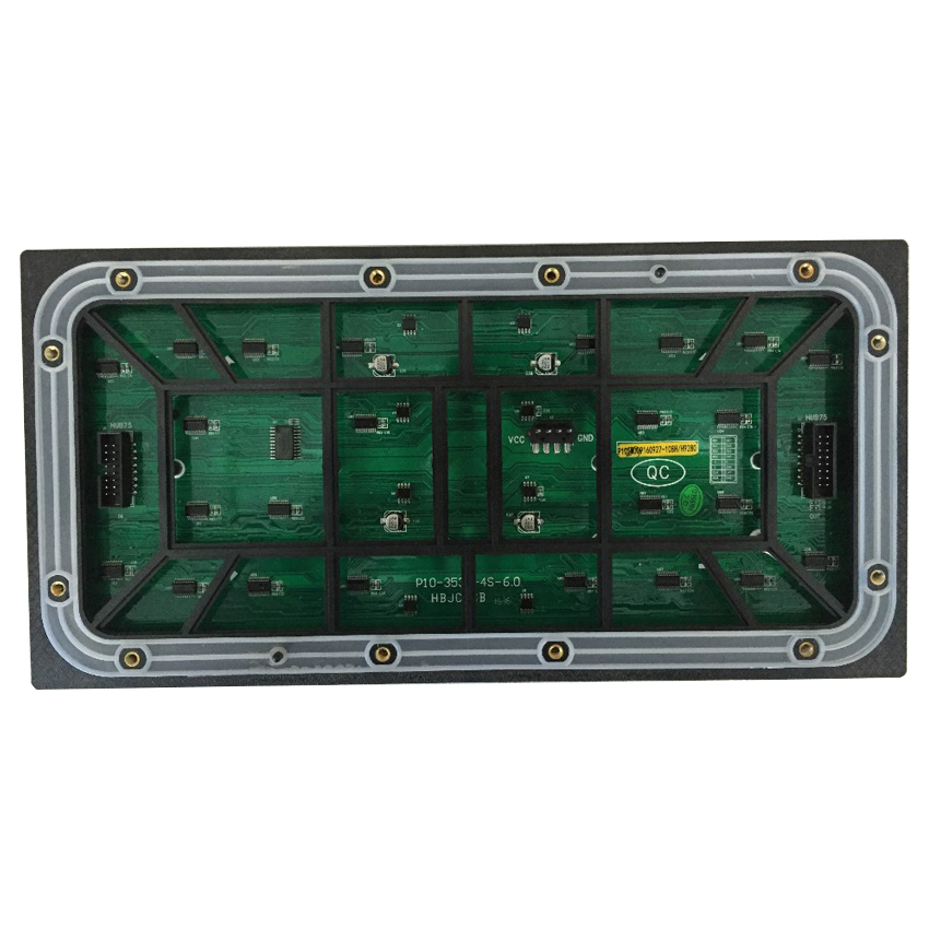 High quality high brightness P10 SMD outdoor HD led display module 320*160mm RGB led panel for advertising <font><b>billboard</b></font> screen image