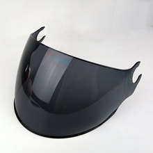 15f2a4d3 LS2 OF562 helmet extra lens silver colorful black outer visor replacement  face shield lens for LS2