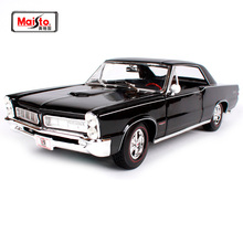 Maisto 1:18 1965 Pontiac GTO(Hurst Edition) Muscle Old Car model Diecast Model Toy New In Box Free Shipping 31885