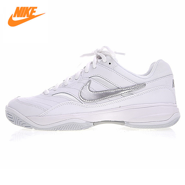 Nike COURT LITE Lightweight Breathable Women 's Tennis Shoes,Original Women  Sports Sneakers Shoes