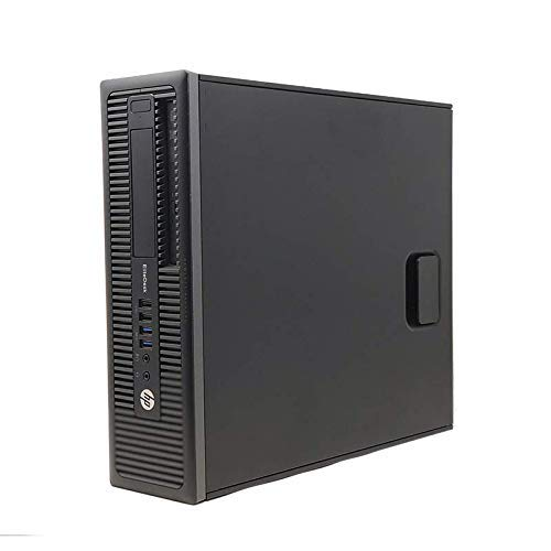 Hp Elite 800 G1 - Ordenador De Sobremesa (Intel  I5-4570, 8GB De RAM, Disco SSD De 240GB+500 HDD, Windows 10 PRO ) - Negro (Reac