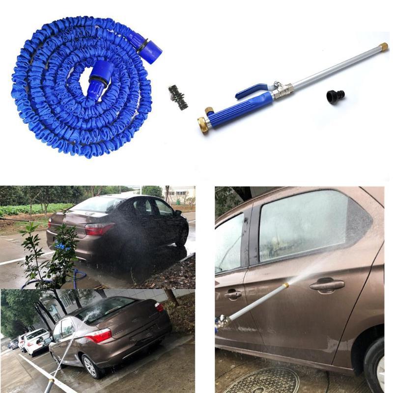 Car High Pressure Power Washer Spray Water Gun With Nozzle Hose Tips Garden Tool
