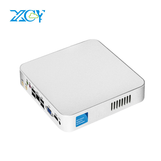 XCY Mini PC Intel Celeron N3160 N2810 Quad-Core Windows 10 Nettop minipc HDMI VGA 6x USB WiFi 1000M Ethernet Office mini desktop xcy mini pc intel core i7 6500u i5 6200u i3 6100u celeron n3160 windows 10 4gb 8gb ddr4 htpc 4k desktop pc hdmi vga wifi