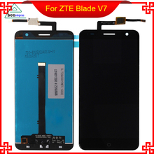 For ZTE Blade V7 LCD Assembly Display Touch Screen Panel Replacement Touch Panel nt631 st211b ev2 touch screen panel