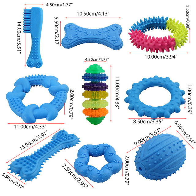 Cute Resistant Rubber Toy For Cleaning Teeth