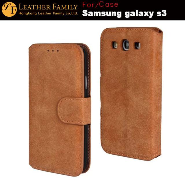 2016 Mais Novo de Luxo SE Caso Genuíno De Couro Original para Samsung Galaxy SIII S3 i9300 Capa Para galaxy s3 Carteira Caso dom gratuito