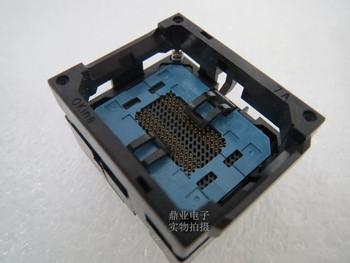Opentop 7A52-090D-082 FBGA90 BGA90 13*11mm szerokość rzędów 0 8mm IC spalania siedzenia Adapter testowania miejsce badania testowania gniazd ławki w magazynie tanie i dobre opinie Tester kabli FBGA90 FBGA90 JINYUSHI 13X11mm