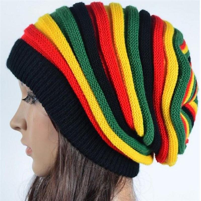 Bonnet tricoté Jamaïcain