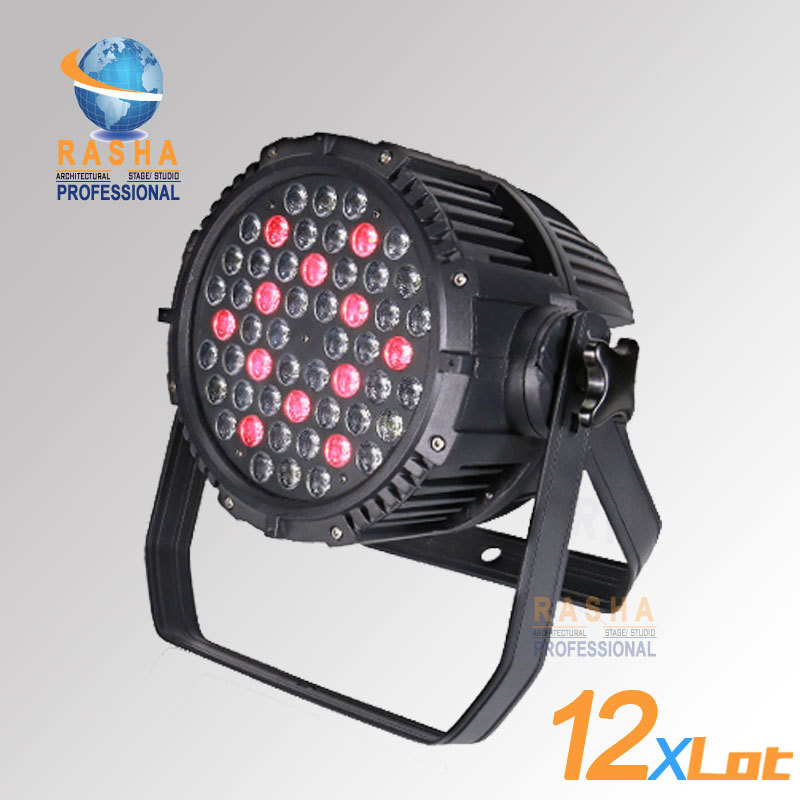 12X Lot-Free Shipping CE Approved RGBW 54*3W LED Par Light,Stage Par64 Light Waterproof LED Par Light DMX LED Par Projector free shipping 4pcs lot stage light 20w led water wave light