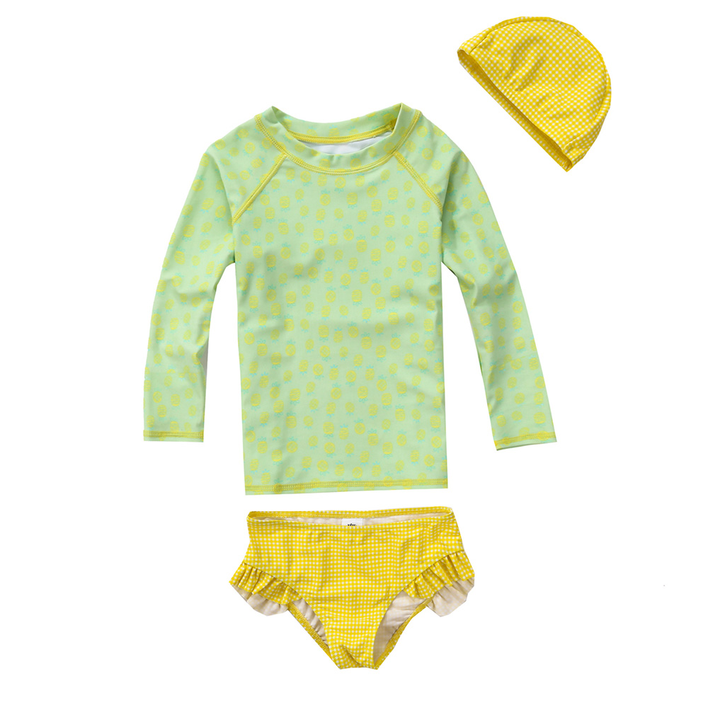 VIVOBINIYA Free shipping NEW baby girl swimsuit UPF50+ Children swimwear kids bathing suit baby girl Split beach clothes
