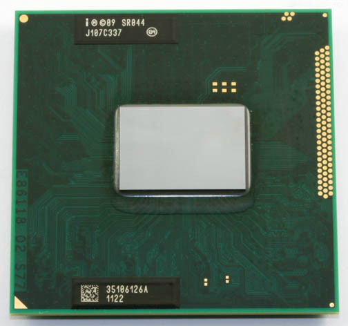 Intel Core i5 2540 M Mobile SR044 2.6 GHz 3 mo Socket G2 processeur d'unité centrale ordinateur portable