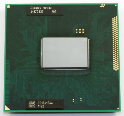 Intel Core i5 2540M Mobile SR044 2,6 GHz 3MB Sockel G2 CPU Prozessor Laptop
