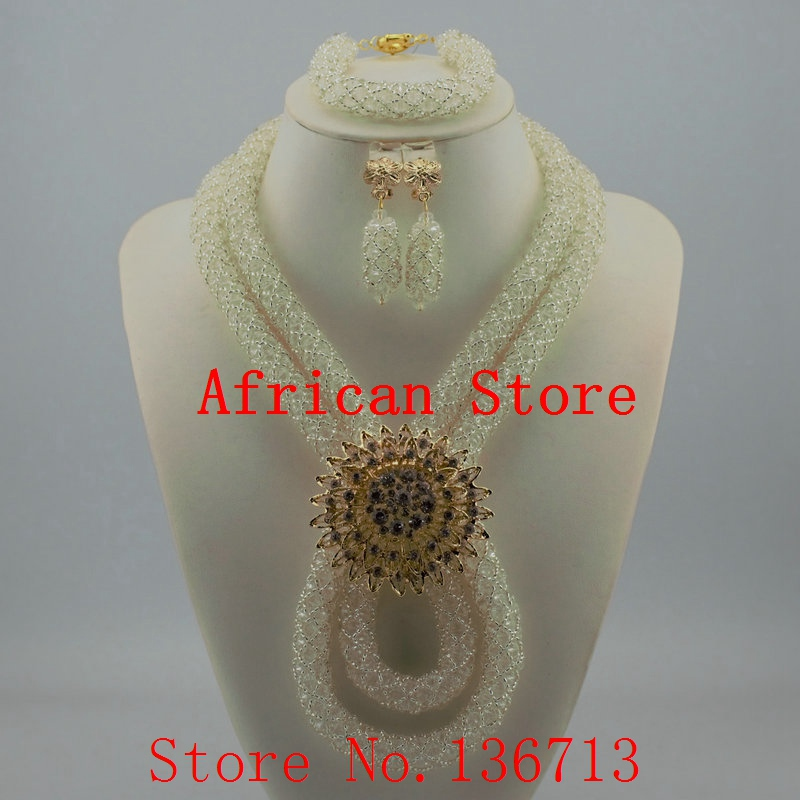 African Wedding Coral Beads Jewelry Set African Beads Jewelry Sets Nigerian Wedding Jewelry Free Shipping ST207-4