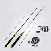 Carbon fishing rod Cutting rod Titanium alloy raft rod with slightly soft tail and slightly lead raft rod YG 17