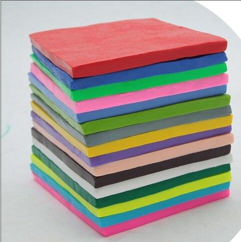 53 couleurs peuvent être choisies 6 PC 250g bloc fimo performance argile bricolage doux modélisation argile matériau non toxique
