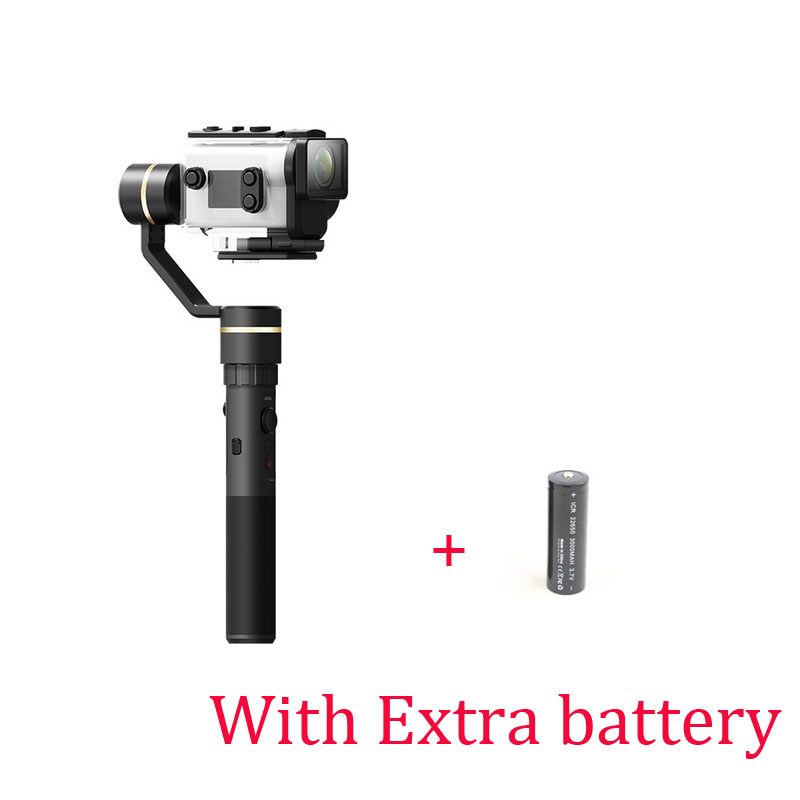 With Two Batteries Original FeiyuTech FY G5GS Handheld Gimbal for Sony AS50 AS50R Sony X3000