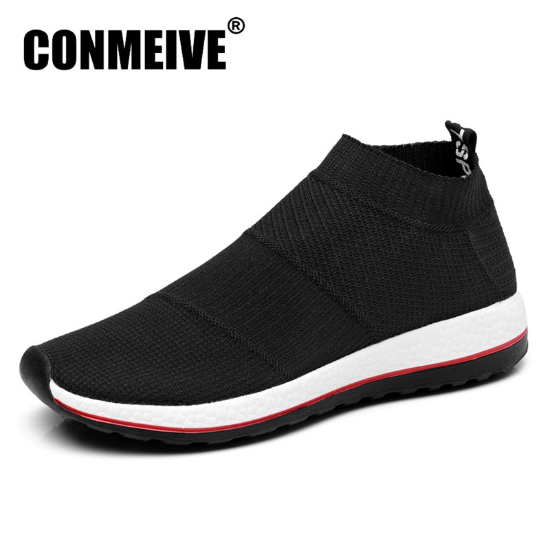 Hot Sale Pustende Menn Sko Mesh (Air Mesh) Superstar Sneakers Light Flats Mens Loafers Casual Slip On Male Chaussure Homme